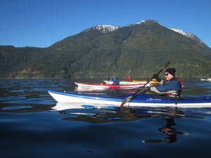Winter Day Paddle on Sound